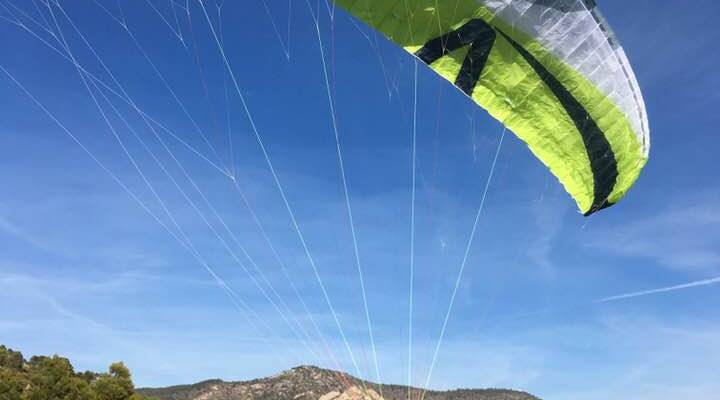 Spain paragliding Alicante