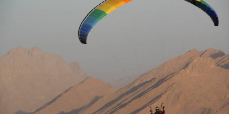Paragliding trips Spain, Morocco, Iran