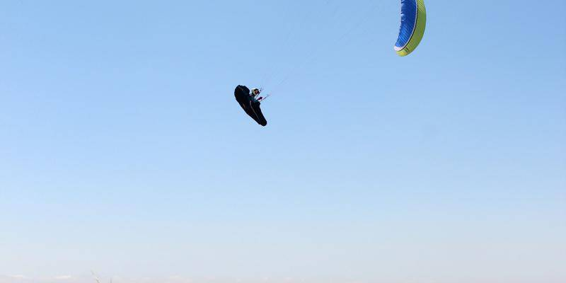 Summer paragliding in Alicante - Spain