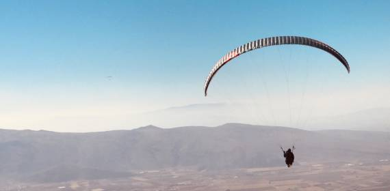 Fresher days - smoother thermals | Alicante Paragliding